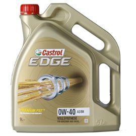 Bidon d'huile moteur Castrol Edge 0W-40 - 5 L (+ 2.25€ en SuperPoints)