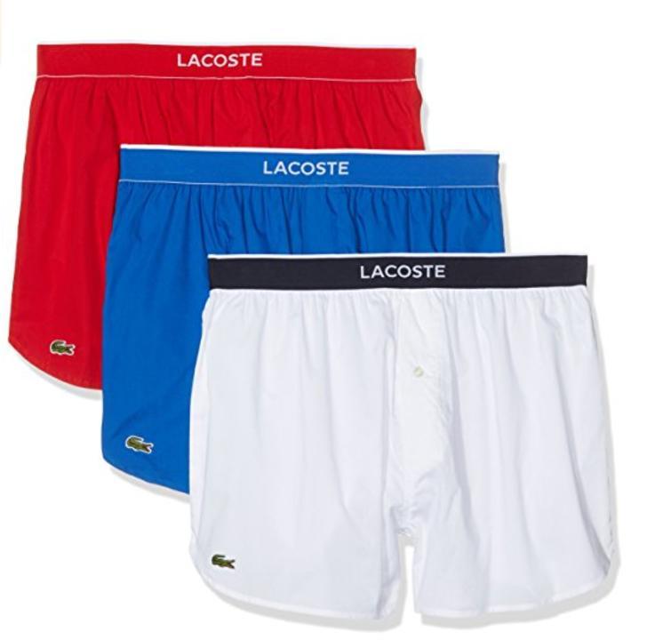 Lot de 3 boxers pour homme Lacoste Multipack (taille XL)