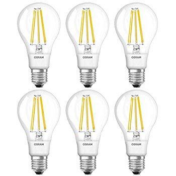 Lot de 6 Ampoules LED Osram  Classiques  - E27, 12W, 2700K