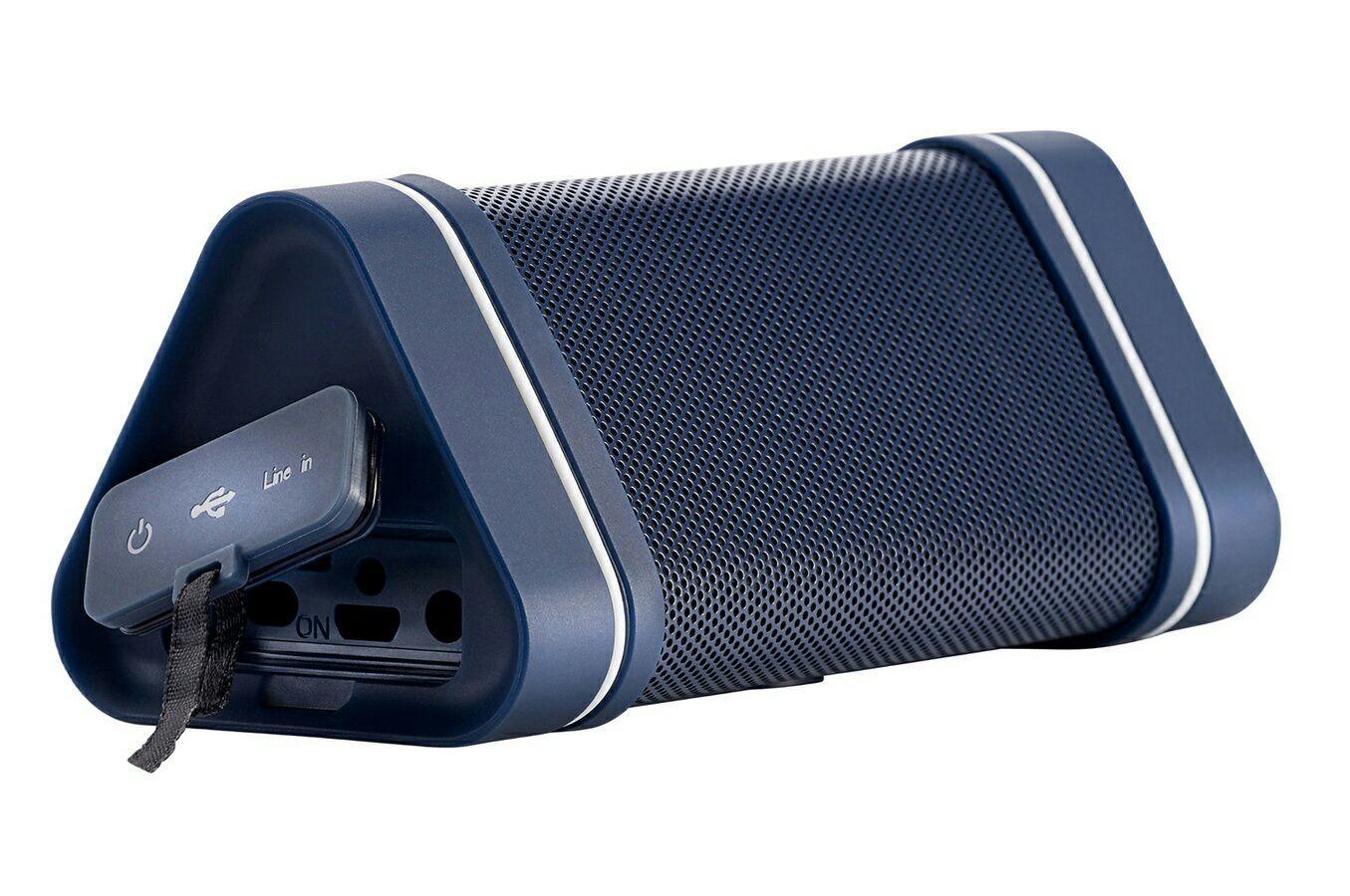 Enceinte Nomade Sans-fil Hercules WAE Outdoor 04+ Bleu - Bluetooth