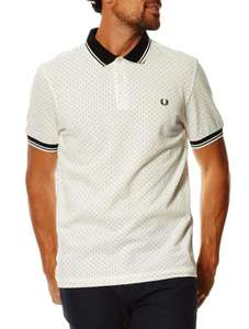 Sélection d'articles Fred Perry en promo - Ex : Polo bicolore Fred Perry