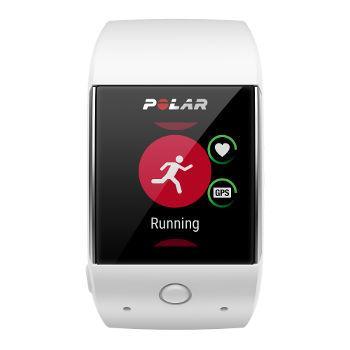 Montre sport et GPS randonnée Polar Montre GPS M600 (blanc)