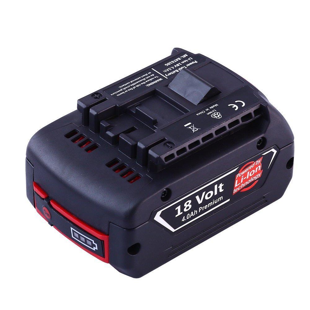 Batterie de remplacement pour Bosch 18V 4AH Forrat
