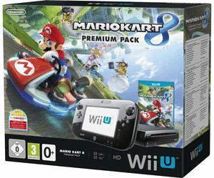 Pack console Nintendo Wii U Premium (32 Go) + Mario Kart 8