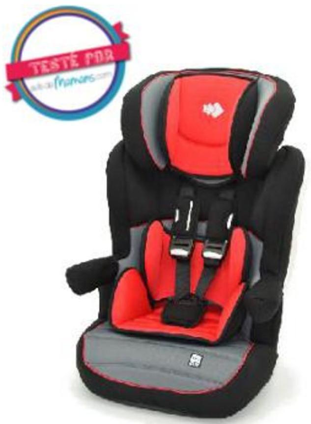 Sélection d'articles pour bébé en promotion - Ex : Rehausseur pour bébé Tex Baby - groupe 1 / 2 / 3 (9 à 36 kg), rouge