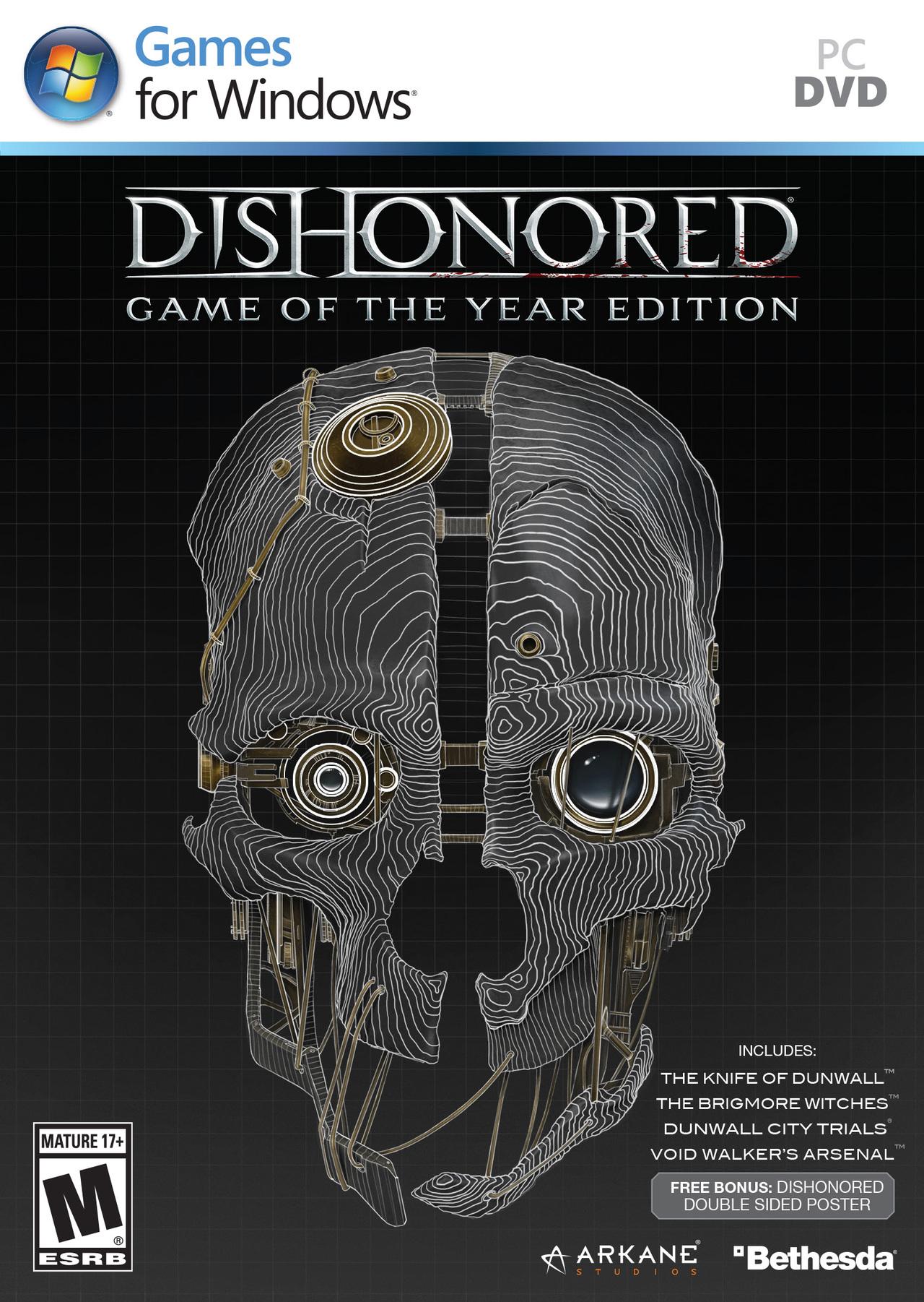 Dishonored GOTY PC (Dématérialisé)