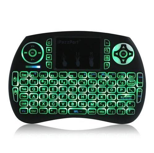 Mini-clavier + pad tactile rétro-éclairé iPazzPort KP-810-21SDL - QWERTY