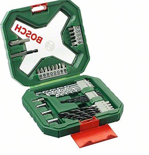 Coffret d'outils de perçage / vissage Bosch X-Line Classic - 34 pièces