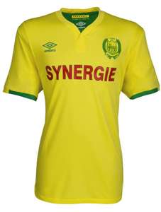 Maillot de football Umbro FC Nantes 16/17 - Junior en jaune et Adulte en vert (du S au XL)