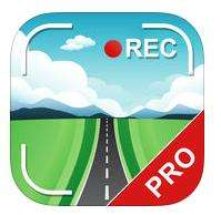 Application Caméra voiture DVR PRO - GPS Blackbox & Dashcam gratuite  sur iOS (au lieu de 3.99€)