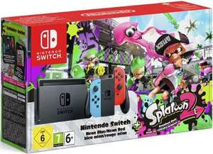 Pack console Nintendo Switch avec Joy-Con  Rouge néon/Bleu néon+ jeu splatoon 2
