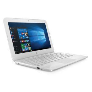 """PC portable 11.6"""" HP Stream 11-Y001NF (N3060, 2 Go de RAM, 32 Go en eMMMC, blanc) + abonnement d'un an à OneDrive (1 To)"""
