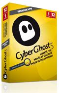 CyberGhost 5 Premium VPN (12M) abonnement 1 an