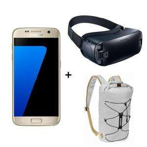 """Smartphone 5.1"""" Samsung Galaxy S7 + Casque Samsung Gear VR + Sac à dos (via ODR de 70€)"""