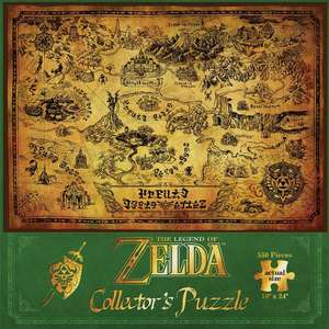 Puzzle Together Zelda JDPNIN014 - The Legend Of Zelda Hyrule Map