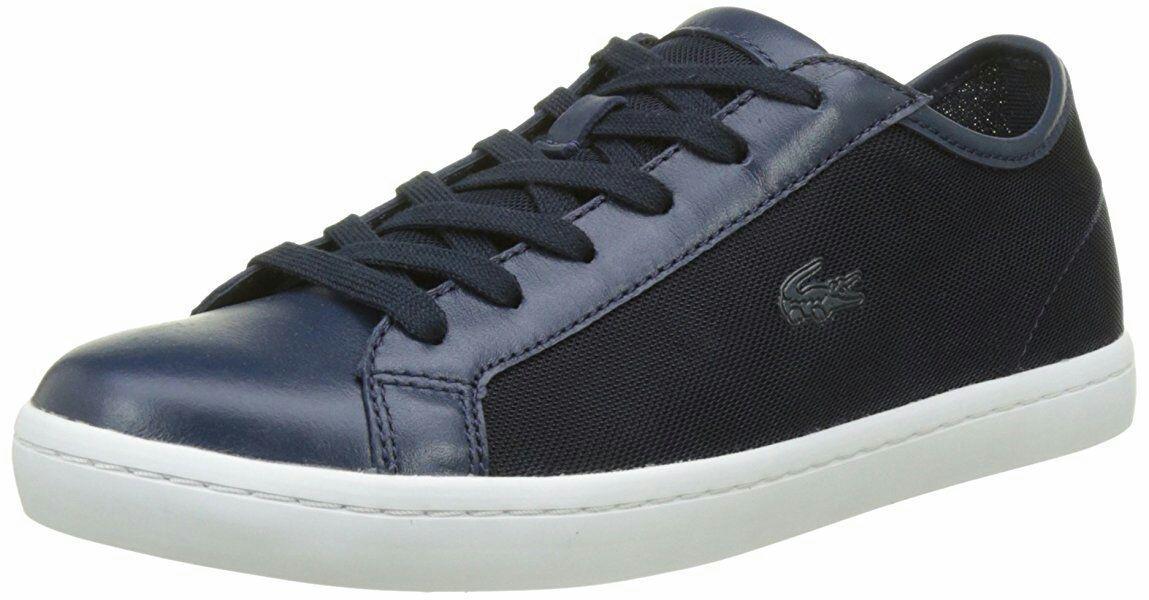 Chaussures Lacoste Straightset 217 Marine pour Femmes - Tailles au choix