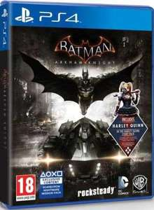 Batman: Arkham Knight sur PS4