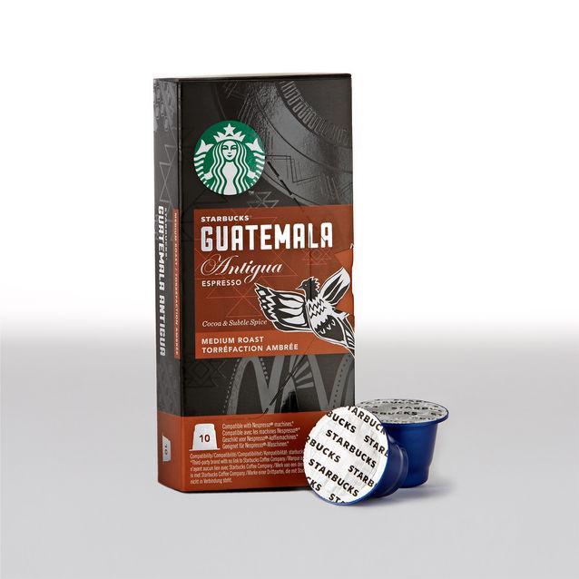 2 paquets de 10 capsules de café Starbucks (différentes variétés)