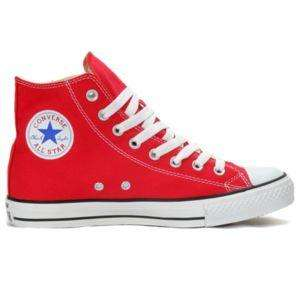 Baskets montantes Converse All Star Hi Rouge (Taille 40 à 45)