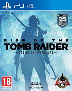 Rise of the Tomb Raider : 20ème anniversaire sur PS4