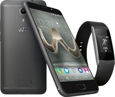 """Smartphone 5"""" Wiko Ufeel prime + bracelet Wimate (Via ODR 50€)"""