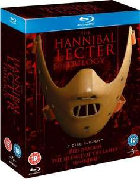 Coffret Blu-Ray Trilogie Hannibal Lecter