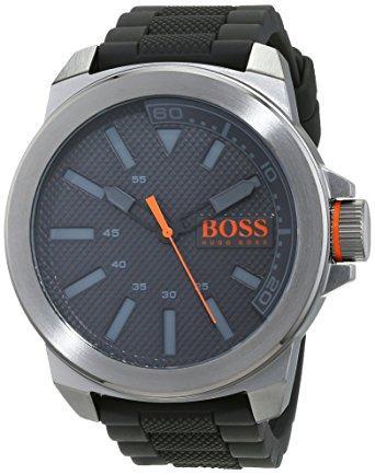 Montre Hugo Boss Orange 1513005 étanche à Quartz pour Hommes - Noir / Gris