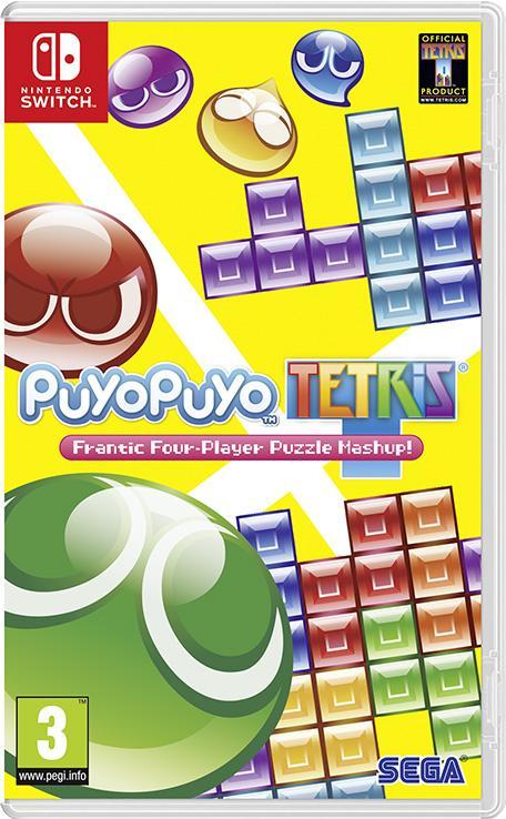 Puyo Puyo Tetris sur Nintendo Switch (Dématérialisé)