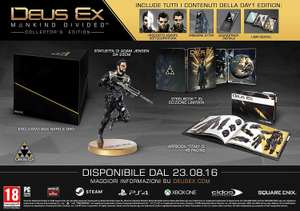 Deus Ex: Mankind Divided - Edition Collector sur PS4 ou Xbox One