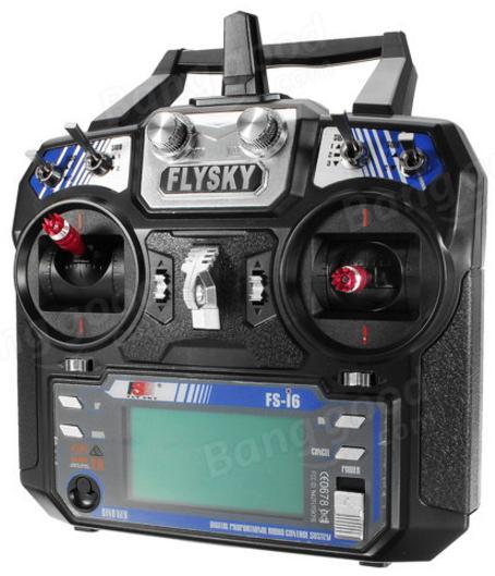 Transmetteur Radiocommandé FlySky i6 FS-i6 AFHDS RC - 2.4GHz, 6CH