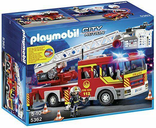 Playmobil 5362 - Camion Pompiers + Echelle