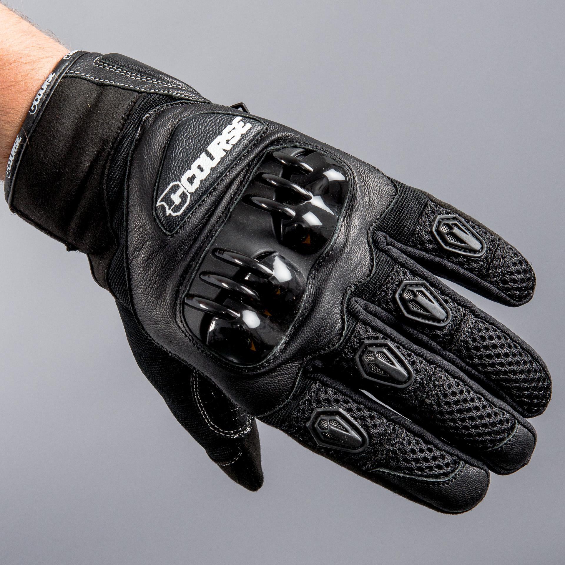 Gants de moto Course Rapid - Noir (Taille XS à 3XL)