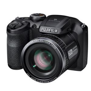Appareil photo bridge Fujifilm FinePix S4600 Noir - CCD 16MP Zoom 26x (-10€ supplémentaire via Buyster)