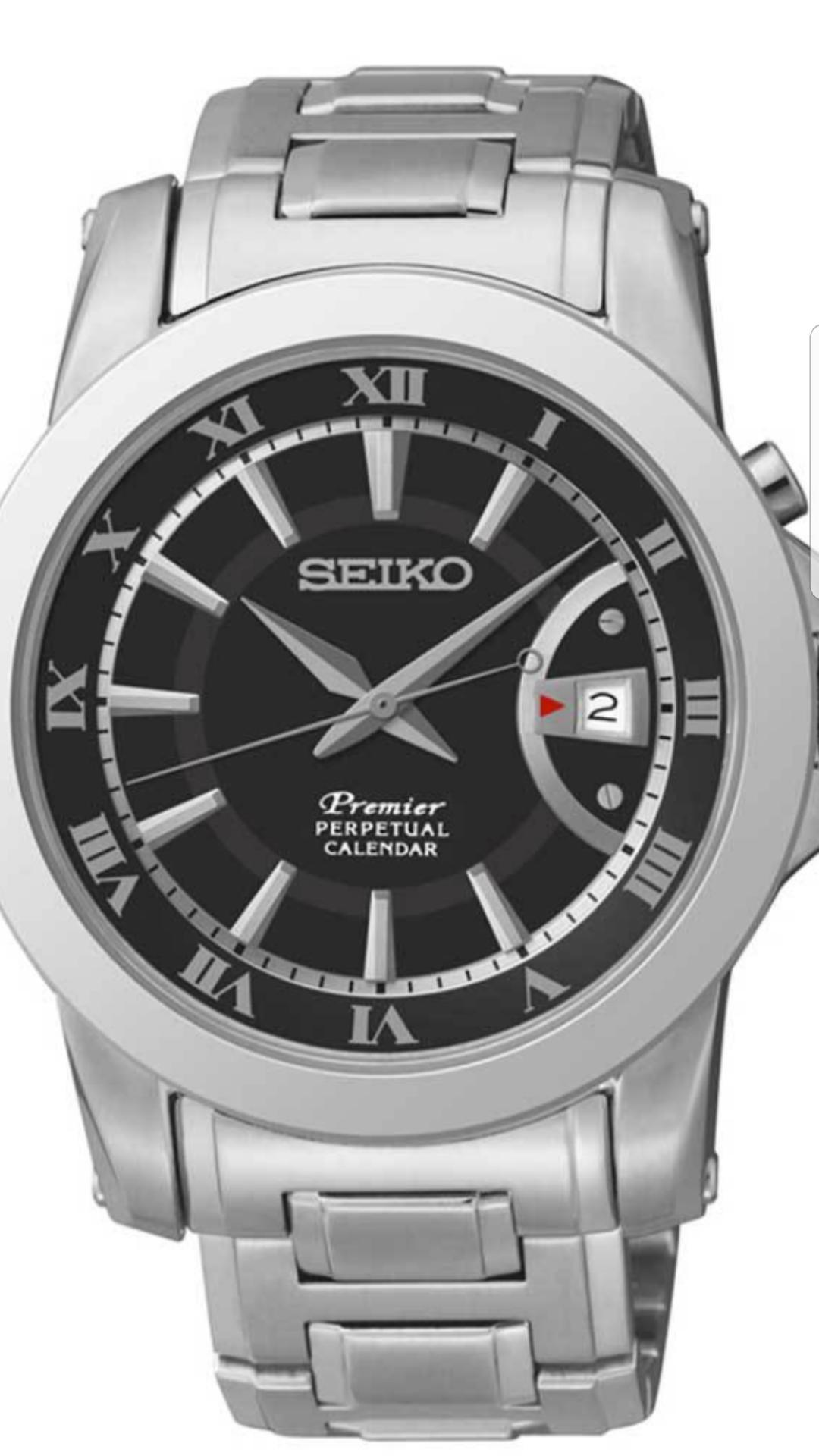 Montre homme Seiko Premier Snq141p1