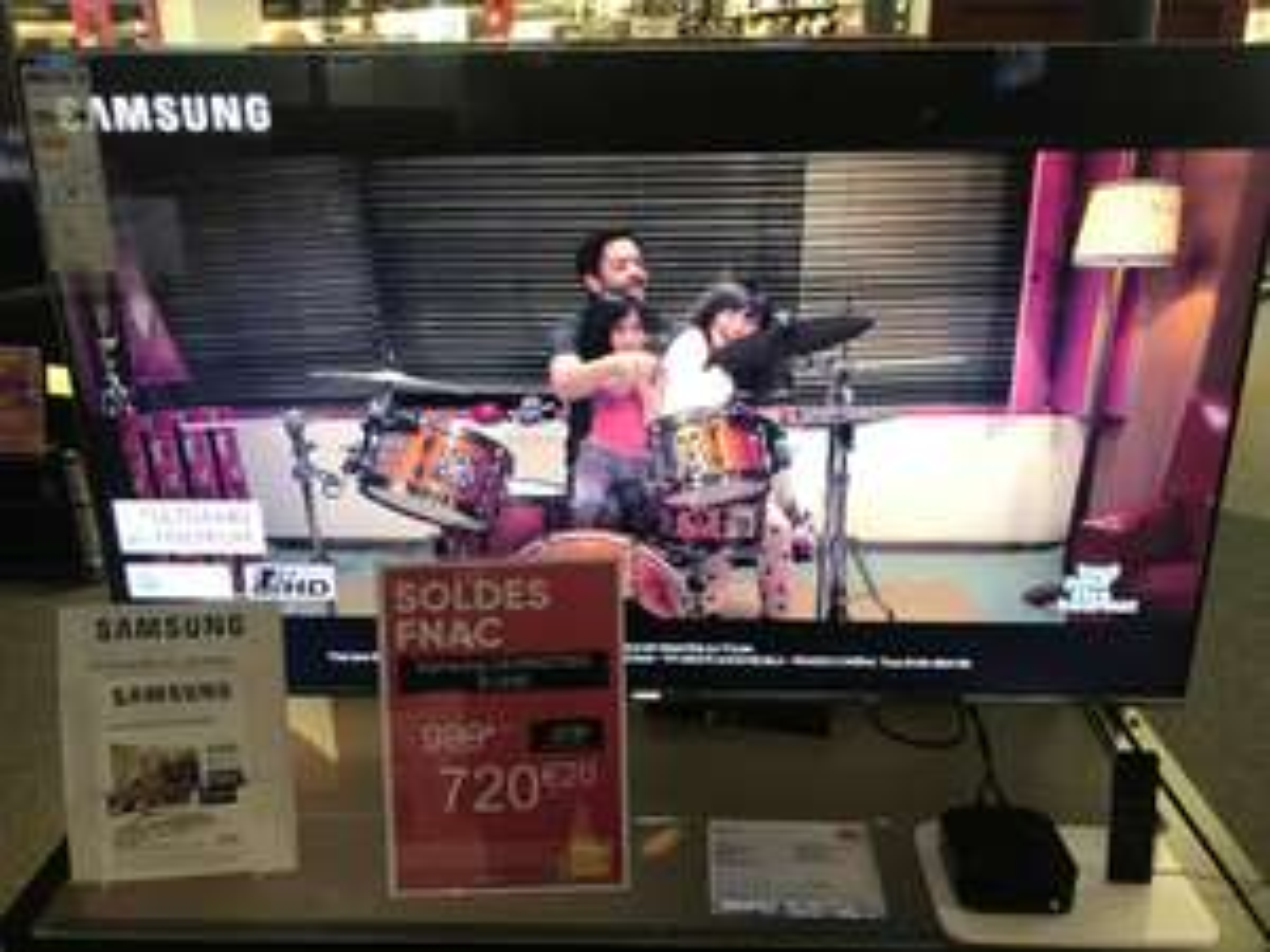 "TV 49"" Samsung UE49KS7000 - 4K UHD, Quantum Dots, HDR 1000"