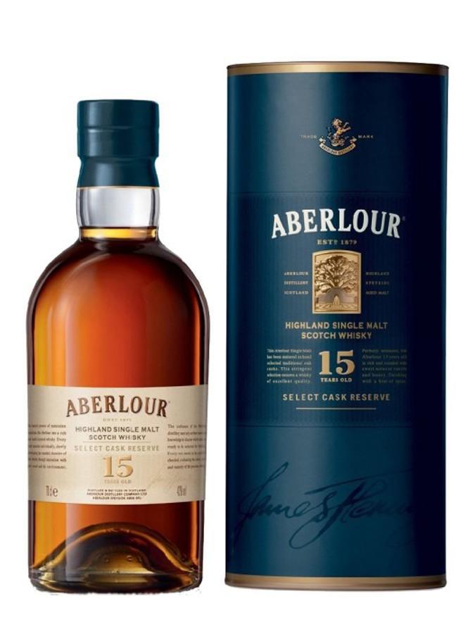 Whisky Aberlour 15 ans Select Cask Reserve - 70 cl