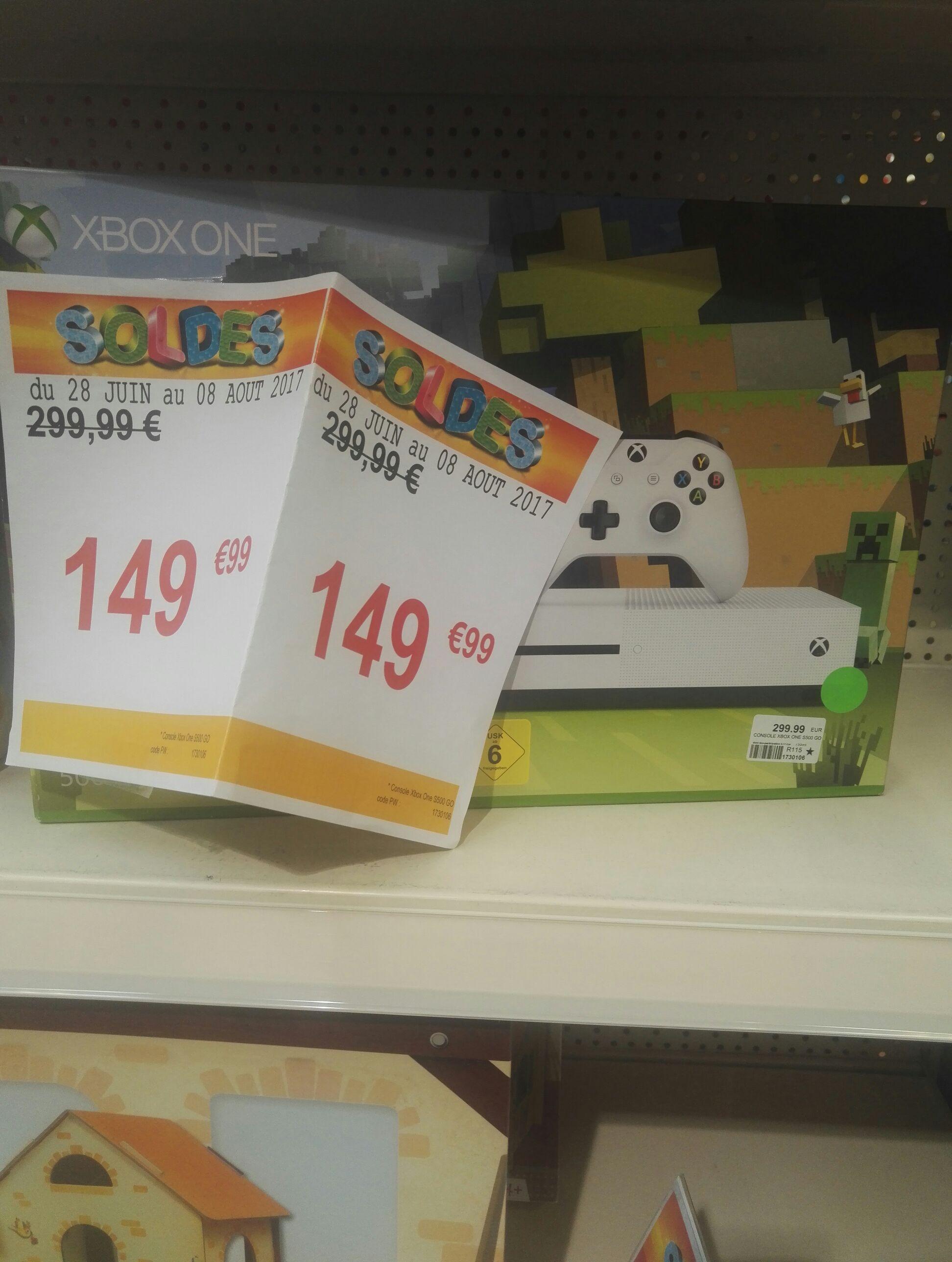 Promotion sur une sélection de consoles - Ex: Xbox One S 500 Go
