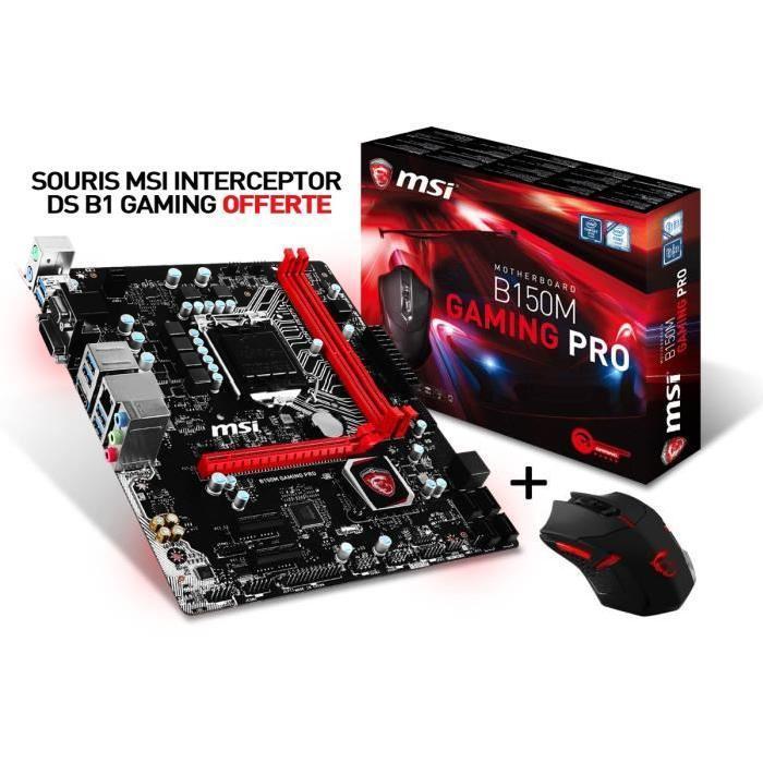 [Cdiscount à volonté] Carte mère + Souris MSI B150M Gaming Pro
