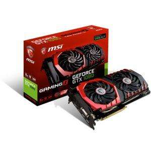 Carte graphique MSI GeForce GTX 1080 Gaming X 8Go DDR5X