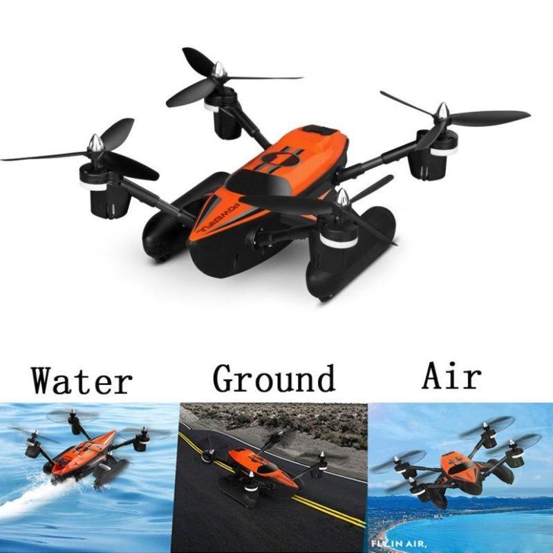 Drone quadricoptère amphibie WLToys Q353