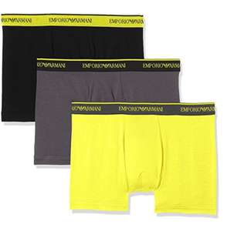 Lot 3 boxers Emporio Armani Intimates Knit,  différents coloris et tailles