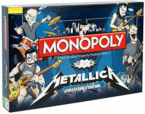 Jeu de société Metallica Monopoly (Import Anglais)
