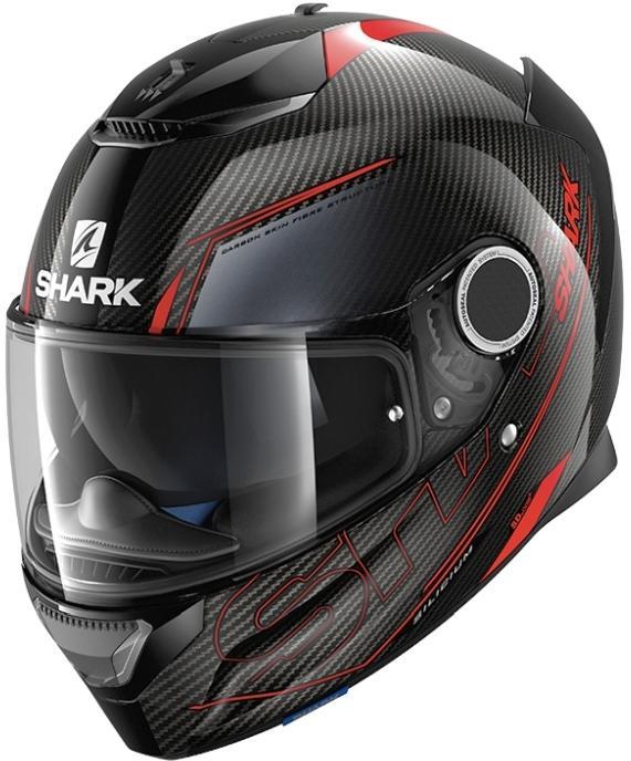Casque de moto  Shark Spartan Carbon Silicium