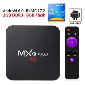 Box Android MXQ Pro - RK3229, 2 Go, 8 Go, Android 6.0
