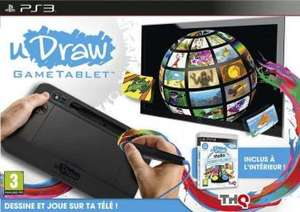 Tablette graphique UDraw + UDraw Studio sur PS3