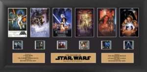 Cadre Pellicule : The History of Star Wars - 51.5 x 28cm