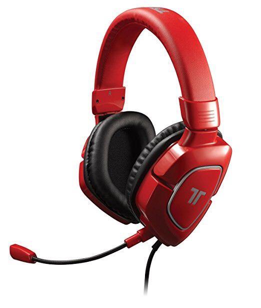 Casque gaming Triton AX180 - Rouge