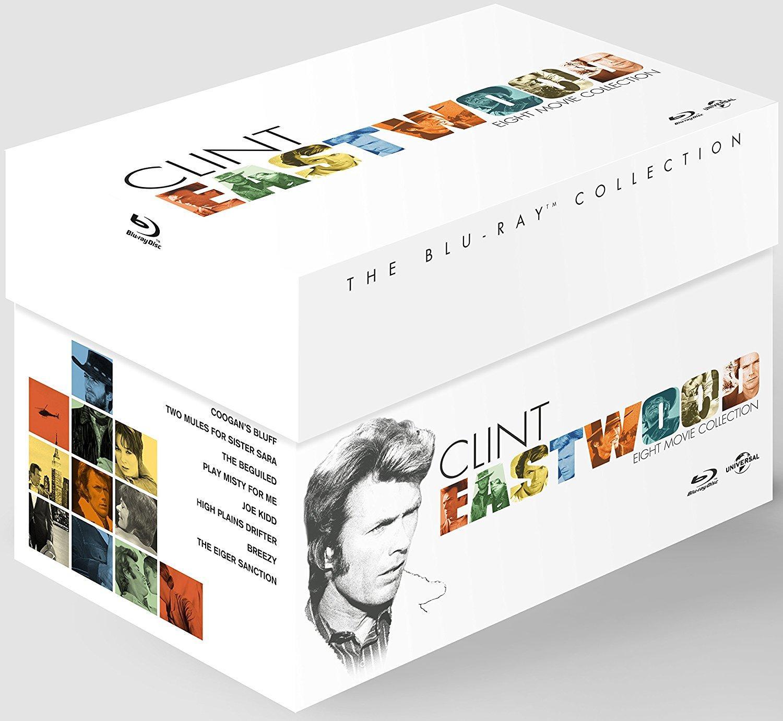 Coffret blu-ray  Clint Eastwood - 8 films