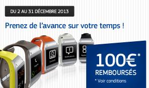 Smartwatch Samsung Galaxy Gear (Avec ODR de 100€)