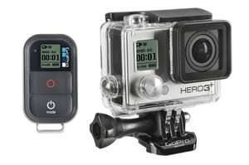 Pack Caméra sportive GoPro HD Hero3+ Black Edition +  Fixation bandeau + Malette Xsories + MicroSD Lexar 16Go (+ 40€ en bon d'achat)